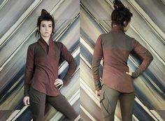 Militia bamboo fleece pullover sweater