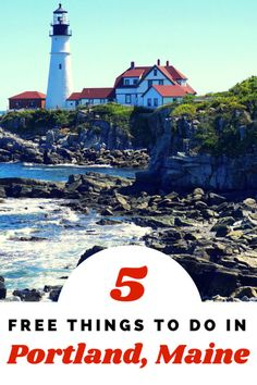 """Guide and tips for free things to do in Portland, Maine. See why this state is called """"Vacationland"""" and the free family-friendly things to do in its major city. Usa Travel Guide, Travel Usa, Travel Tips, Budget Travel, Travel Maine, Oregon Travel, Travel Packing, Solo Travel, East Coast Road Trip"""