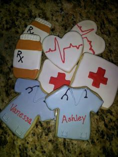 Nursing school graduation