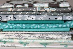 gray, aqua, white.........and i own many of them already!
