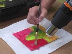 How-To: Create Different Surfaces In Encaustic