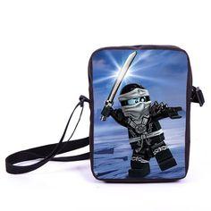 Sonic Mini Messenger Bags Children Crossbody Schoolbags Boys Girls Bookbag Kids Shoulder Bag Bags For Snacks Daily Bag