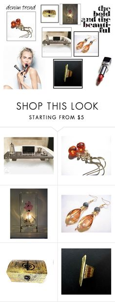 """""""Trends from ETSY"""" by blingauto on Polyvore featuring Sephora Collection, Christian Dior, etsy and lavostradolcevita"""