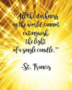 St. Francis Assisi Light by PinotNoirAndPrayers on Etsy