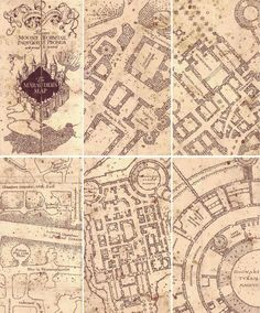 Marauders map                                                                                                                                                      More