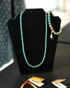 Check this beautiful necklace. One of our new creations. Do you want it? Talk to us. This and more are available for you.