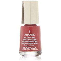 Mavala Switzerland Nail Color Cream 1 Ankara *** Check out this great product. (This is an affiliate link) #FootHandNailCare