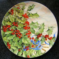 """""""Gien"""" plate for Christmas"""