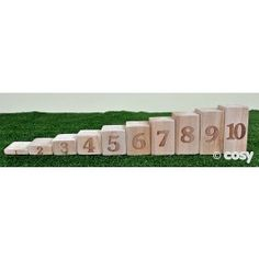 PROPORTIONAL NUMBER BLOCKS 1-10 (11PK)