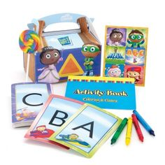 Super Why Party Games