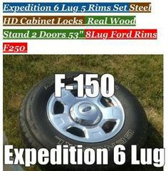 """Ford Truck 2006 F-150 Pickup Wheels 17"""" Factory For Sale or Trade $  Seat Belts Lapp New."""