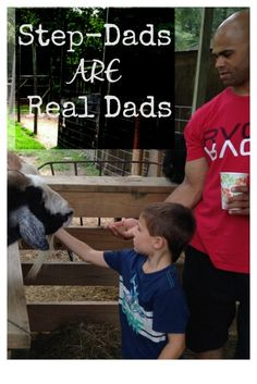 Step-Dads ARE Real Dads - lets give amazing step-dads the credit they deserve!