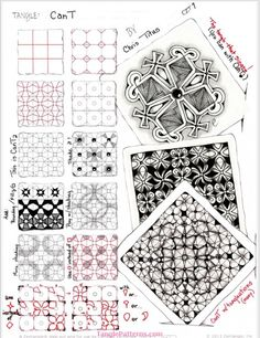 How to draw CANT « TanglePatterns.com
