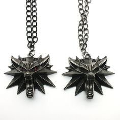 SINSHI The Witcher 3 Wild Hunt Medallion Pendant black Chain alloy red – intothea Witcher 3 Wild Hunt, The Witcher 3, Tattoo Designs, Jewelry Accessories, Chain Necklaces, Pendants, Brooch, Pendant Necklace, Metal