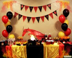 9 Best Storie 5th Birthday Images Dragon Party Dragon Birthday