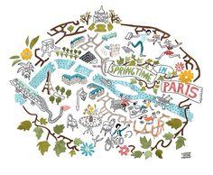 Snowflake Charity Ball - Antoine Corbineau • Paris map
