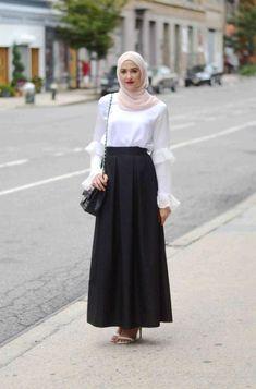 How to wear cute hijab in honeymoon