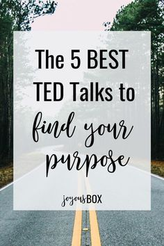 5 Motivational TED Talks to Help You Find Your Purpose Let's look at some refreshing advice from these awesome TED Talks that can help you find your purpose and explore your passion (or passions)… Live For Yourself, Improve Yourself, Finding Yourself, Discover Yourself, Self Development, Personal Development, Best Ted Talks, Pep Talks, Self Discovery
