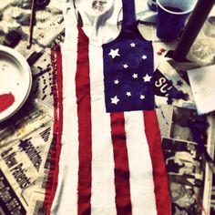DIY Fourth of July shirt