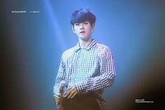 Baekhyun - 160722 Exoplanet #3 - The EXO'rDium in Seoul Credit: Be Charmed.