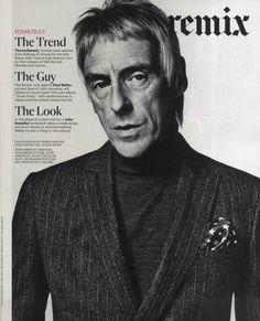 IHT - November 2012    Paul Weller wears John Smedley style Belvoir