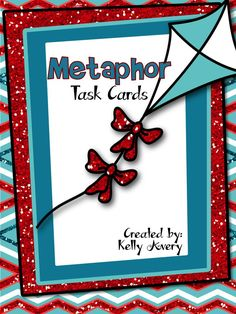 Metaphors are such a fun type of figurative language for kids!  If you are looking for new ideas on teaching students about metaphors, click here to discover how these task cards can easily be incorporated into your poetry and figurative language lessons.