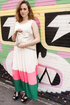 cf4430e99d Darimeya pleated maxi dress Pleated Maxi