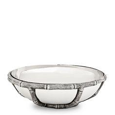 #EICHHOLTZ Schale Bowl Haiti nickel bei Villatmo.de