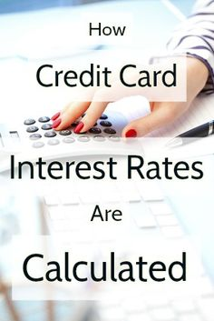 When you are approved for a credit card, it comes with an APR, or annual percentage rate. It's this rate that's used to determine how much interest you're charged if you carry a credit card balance. But its use isn't as straightforward as you might think. Here's how credit cards interest rates are calculated using your daily periodic rate and average daily balance: http://www.creditinfocenter.com/cards/calculate-interest-rates.shtml
