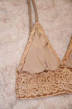 Caroline: DIY Triangle Lace Bra