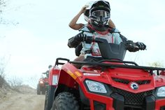 Quads Can-Am Outlander with Wild Canyon