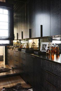 Visite déco : Ambiance monochrome très chic à Brooklyn   @decocrush - www.decocrush.fr