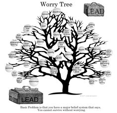 The Worry Tree - A quick little story we can all learn from ...