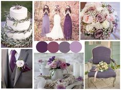 Pantone's color of the year, Radiant Orchid, is likely to be very popular for weddings this year, as we talked about a couple weeks ago. But of course, not everyone is a fan of very bright purples....