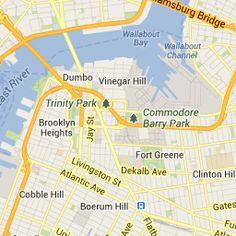 Williamsburg Bridge and East River Park