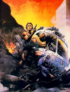 Frank Frazetta Paintings, Art, Pictures, Gallery, frank_frazetta_the_gauntlet
