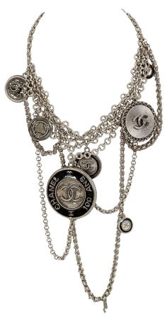 Chanel    Anniversary Charm Necklace