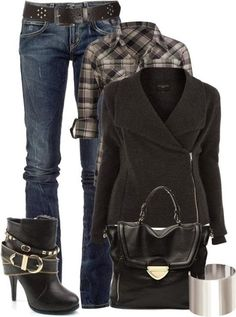 Stunning Fashion Shoes Stylish Coat and Fall Outfit