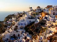 Santorini, Greece:  One day I will get there...