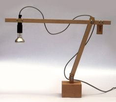 diy table lamp - Google Search