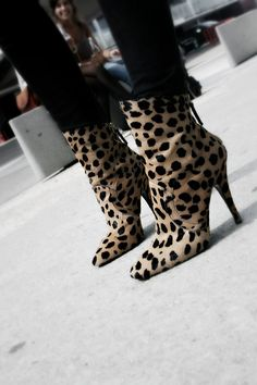 Monday Morning shoe inspiration, leopard adds the perfect amount of sass to any outfit.