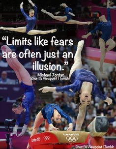 Limits, like fears, are often just an illusion. -Michael Jordan