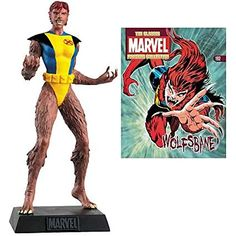 Marvel Comics Wolfsbane Collector Magazine with Figure by Eaglemoss Publications -- Check this awesome product by going to the link at the image. (This is an affiliate link) Wolfsbane, Game Character Design, Geek Culture, Marvel Comics, Action Figures, Magazine, Superhero, Classic, Illustration