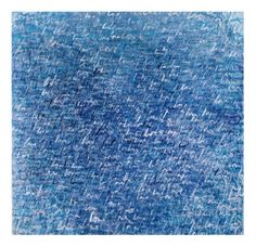 TITLE: demin blue love 2014  SIZE : 140X100  MATERIAL : MIXED MEDIA ON CANVAS