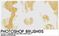 Coffee Mark - Download  Photoshop brush http://www.123freebrushes.com/coffee-mark/ , Published in #GrungeSplatter. More Free Grunge & Splatter Brushes, http://www.123freebrushes.com/free-brushes/grunge-splatter/ | #123freebrushes