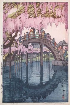 KAMEIDO by Hirosi Yosida in 1927