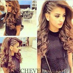 14.Les Cheveux bouclés Style
