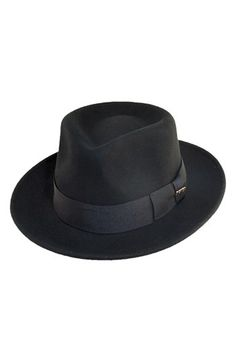 23872d0d1cd Scala  Classico  Wool Felt Fedora available at  Nordstrom Fashion Wear