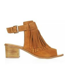 June Fringed Front Shoes via @WhoWhatWear