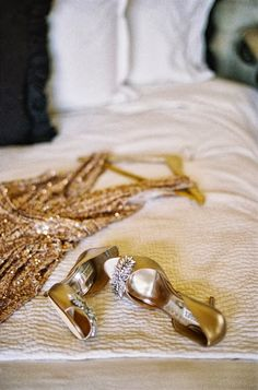 Cool Chic Style Fashion: Weddings ispitation photography by Patrick Moyer. #gold